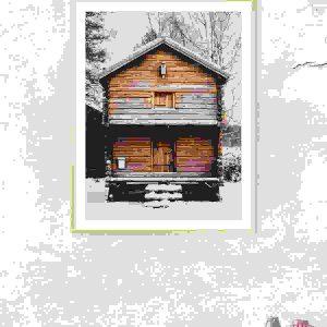 House photo frame